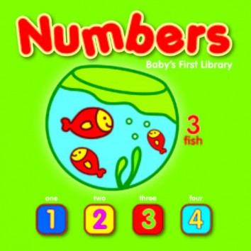 Yoyo's Baby First Library Small - Numbers